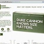 Duke Cannon product page