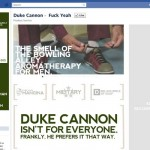 Duke Cannon facebook page