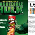 Hulk Promotion for Pringles