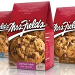 Mrs. Fields Cookies packaging